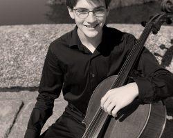 Concierto de Guillermo Escribano Gil, alumno de Violonchelo de nuestro centro dentro del X Festival joven del 37 Festival Ibérico de Música