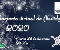 Enlace al concierto  Virtual de Navidad 2020