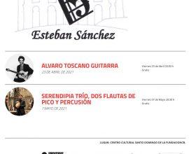 Concierto de Guitarra, Álvaro Toscano. Conciertos de Primavera de la Sociedad Filarmónica «Esteban Sánchez»