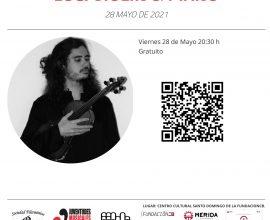 Concierto de Violín y Piano. Sergio Bolaños & Lucjan Luc. Viernes 28