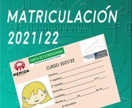 Matriculación 2021/22