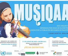 MUSIQAA DOS ORQUESTAS EN CONCIERTO ONLINE. FECHA DEFINITIVA