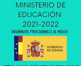 Becas del Ministerio de Educación para el curso 2021/22